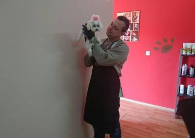 Kurs groomerski - uczestnicy szkolenia strzyżenia psów (1)